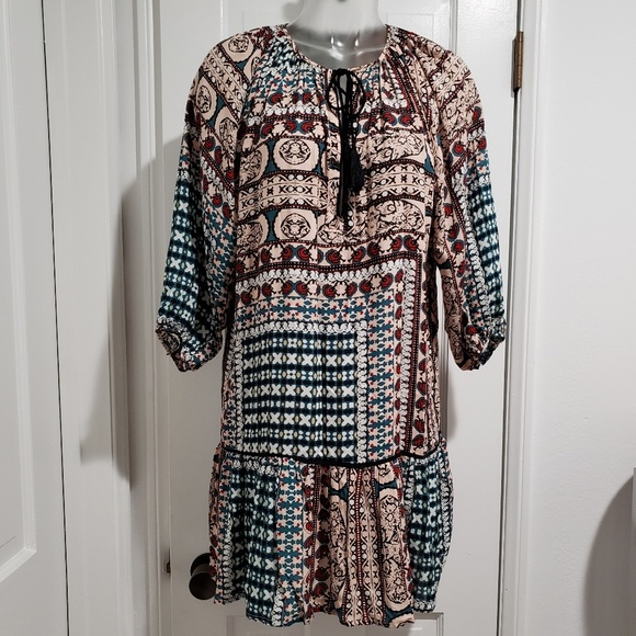 Anthropologie Dresses & Skirts - Anthropologie Bohemian Peasant Dress Coverup